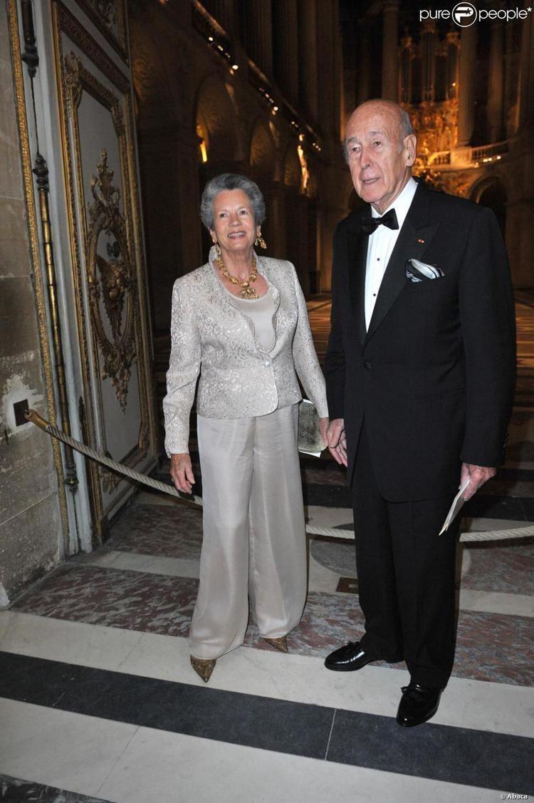 Anne-Aymone Giscard d'Estaing AnneAymone Giscard d39Estaing et Valry Giscard d39Estaing au gala de