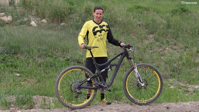 Anne-Caroline Chausson Pro Bike AnneCaroline Chausson39s Ibis prototype BikeRadar