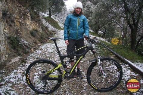 Anne-Caroline Chausson Pro Bike AnneCaroline Chausson39s Ibis Mojo HD