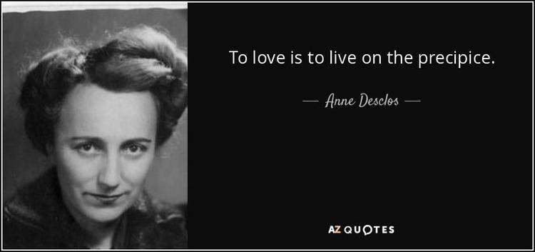 Anne Desclos TOP 24 QUOTES BY ANNE DESCLOS AZ Quotes