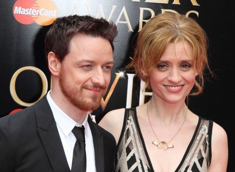 Anne-Marie Duff AnneMarie Duff and James McAvoy the first couple of