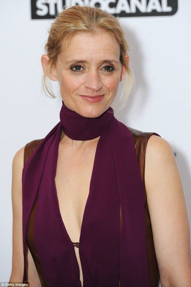 Anne-Marie Duff AnneMarie Duff turns heads in leather dress at the London