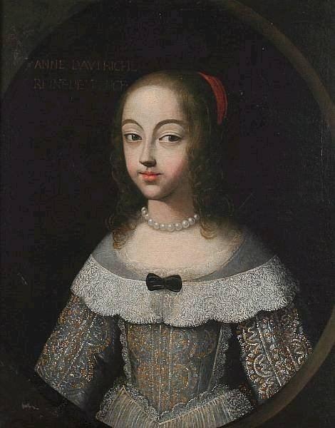 Anne of Austria Soldanne Of Austria Queen Of France French School