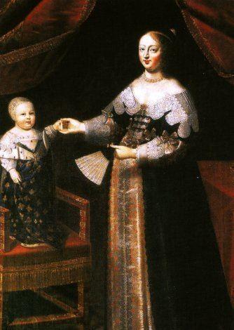 Anne of Austria Louis XIV the Sun King Anne of Austria Louis39 Mother