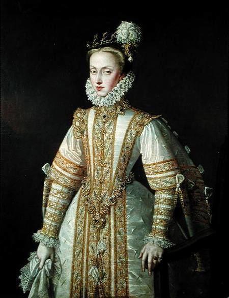 Anne of Austria Anne of Austria 154980 Queen of Spain Alonso Sanchez