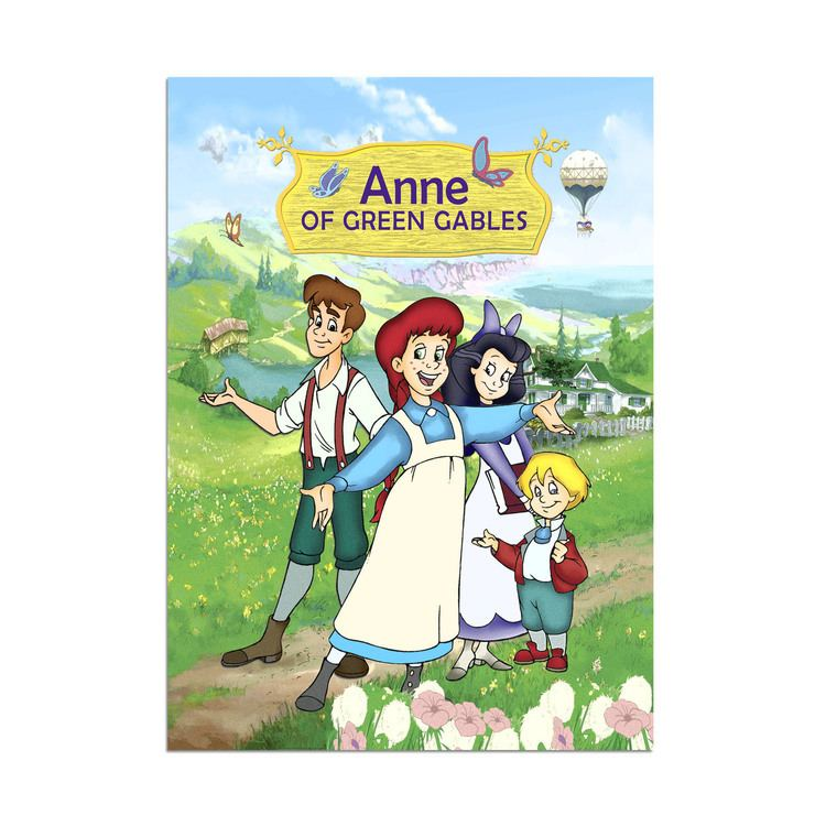 Anne of Green Gables: The Animated Series Anne of Green Gables The Animated Series Fleece Blanket Home