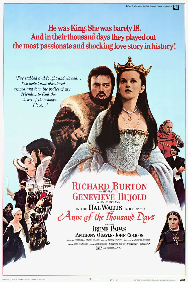 Anne of the Thousand Days wwwgstaticcomtvthumbmovieposters389p389pv