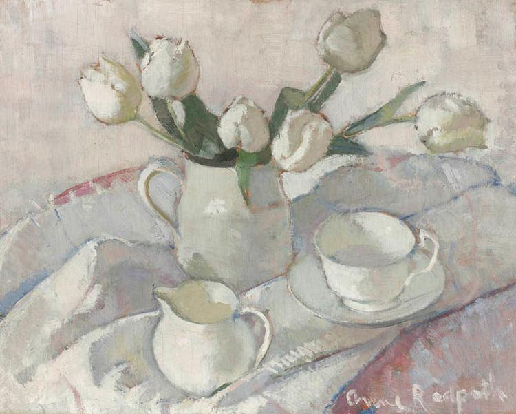 Anne Redpath Anne Redpath Study in White Portland Gallery
