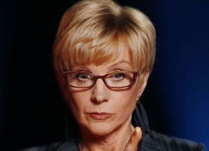 Anne Robinson BBC spends 50000 on Anne Robinson39s dressing room News