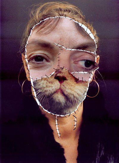 Annegret Soltau Grima mit Katze I The Vero Group Collection Houston