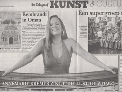 Annemarie Kremer Annemarie Kremer Soprano NewsEvents