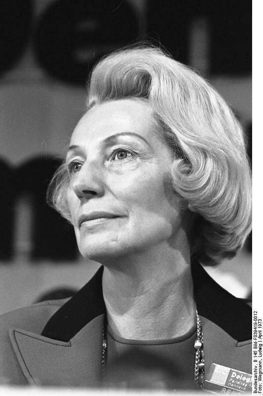 Annemarie Renger Annemarie Renger Steckbrief PromiGeburtstagede