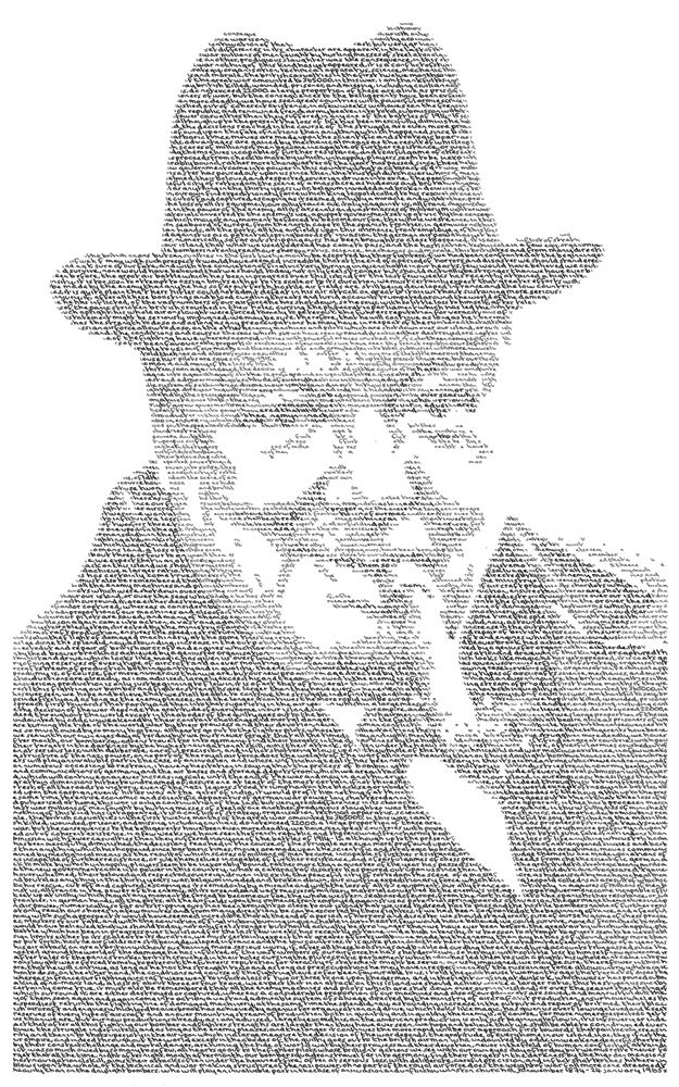Annemarie Wright Political Portraits Made From Handwritten Text Londonist