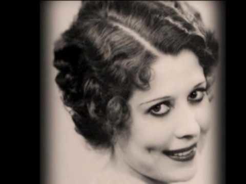 Annette Hanshaw Annette Hanshaw Moon song 1933 YouTube