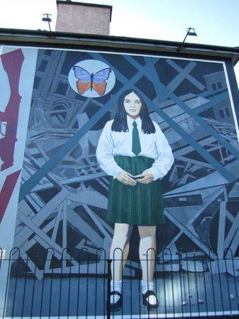 Annette McGavigan Annette McGavigan Picture of Bloody Sunday Memorial Derry