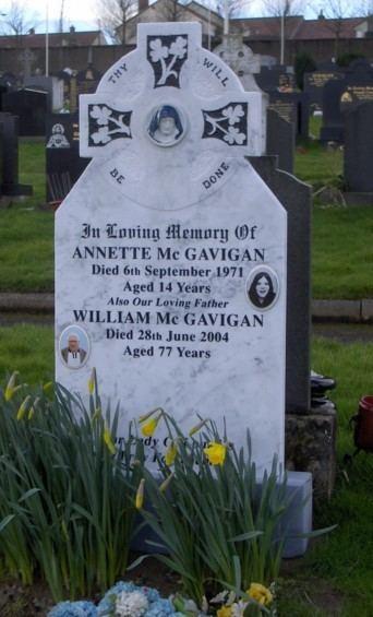 Annette McGavigan Annette McGavigan 1957 1971 Find A Grave Memorial
