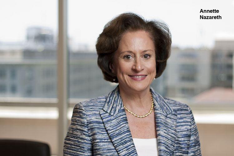 Annette Nazareth QA Davis Polk Wardwells Annette Nazareth The BLT The Blog of