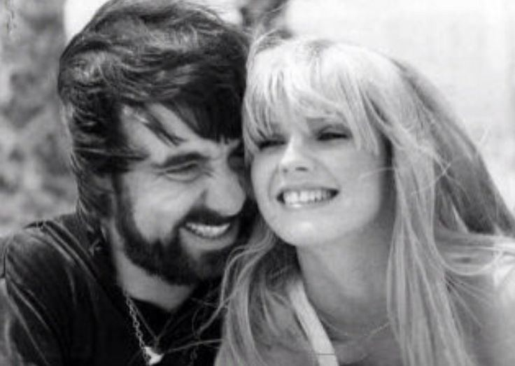 Annette Walter-Lax and Keith Moon sweet moment
