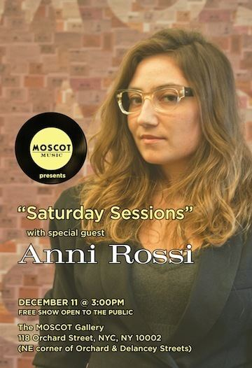 Anni Rossi Anni Rossi Playing MOSCOT Saturday Music Sessions