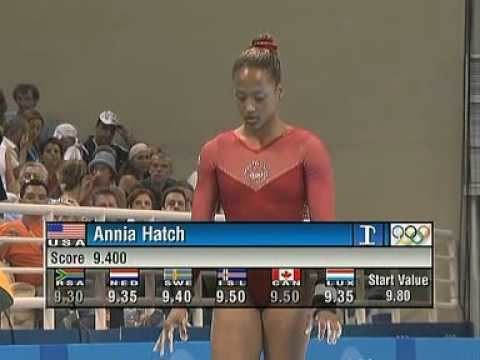Annia Hatch Annia Hatch 2004 Olympics EF Vault USA YouTube