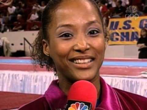Annia Hatch Annia Hatch Interview 2003 US Gymnastics