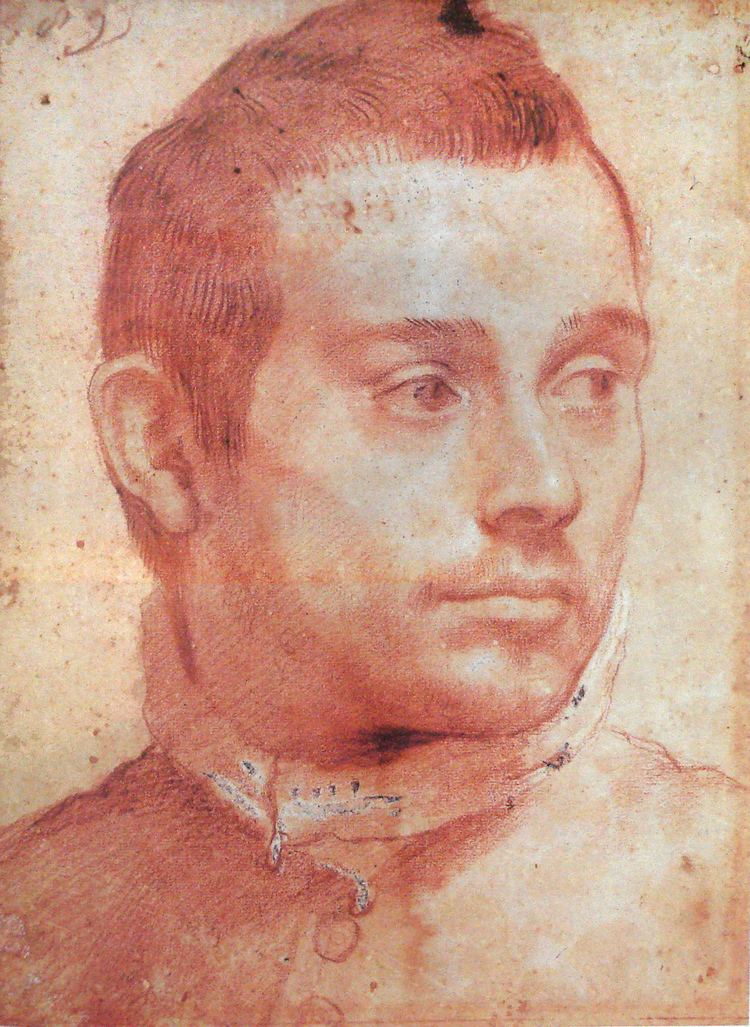 Annibale Carracci Portrait of a man Annibale Carracci WikiArtorg