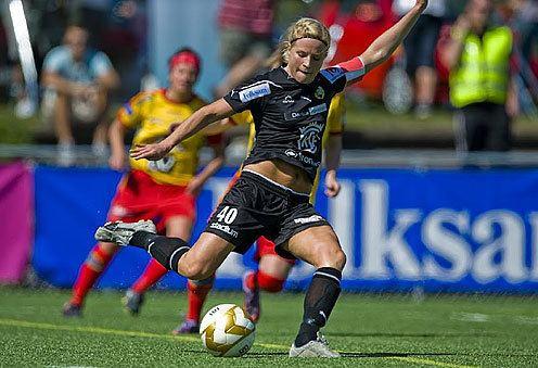 Annica Svensson Dam Annica Svensson skrll i Dennerbys trupp svenskfotbollse