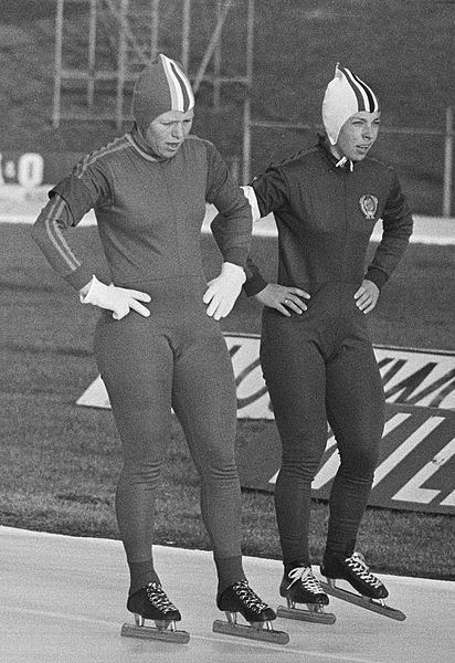Annie Borckink FileAnnie Borckink and Tatyana Shelekhova 1976jpg Wikimedia Commons