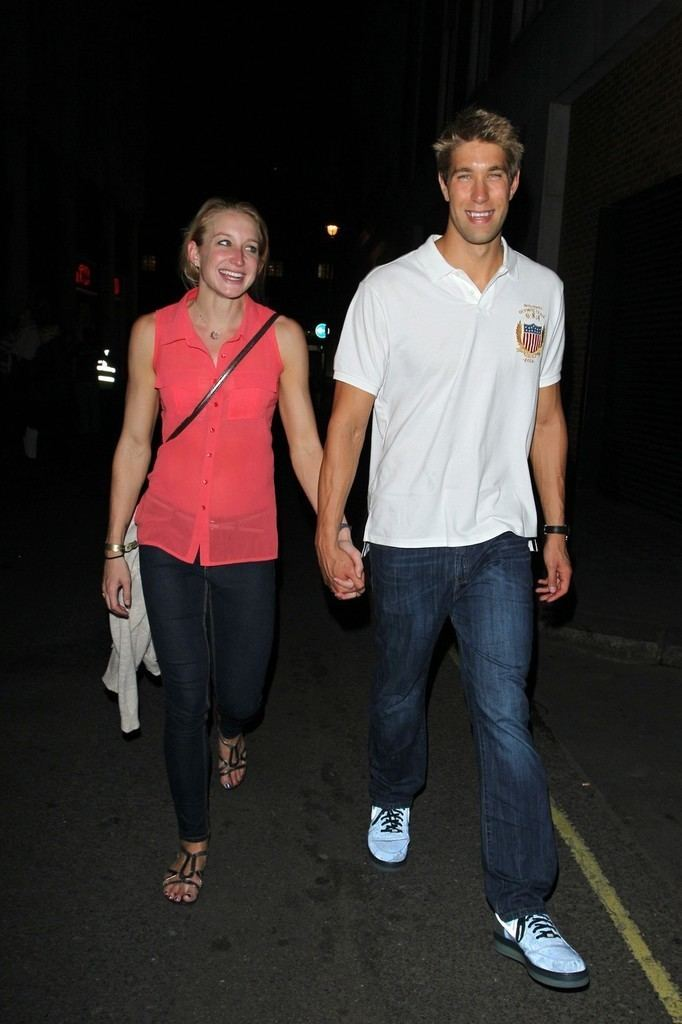 Annie Chandler (swimmer) Matt Grevers and Annie Chandler Photos Photos Matt Grevers and