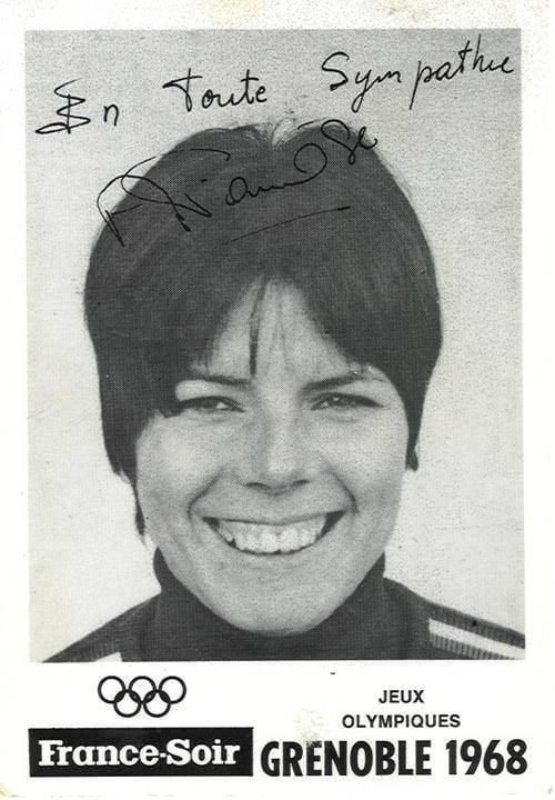 Annie Famose Annie Famose Grenoble 1968