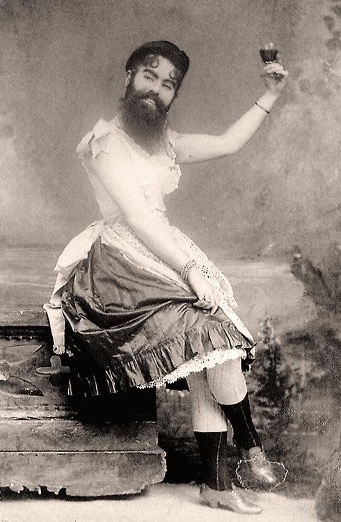 Annie Jones (bearded woman) Annie Jones 1860 1902 bearded woman of PTBarnum