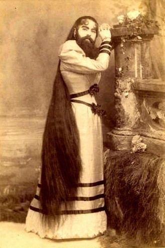 Annie Jones (bearded woman) Unusual Photos