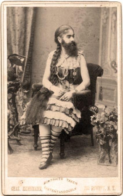 Annie Jones (bearded woman) Miss Annie Jones Bearded Lady quot circus Pinterest