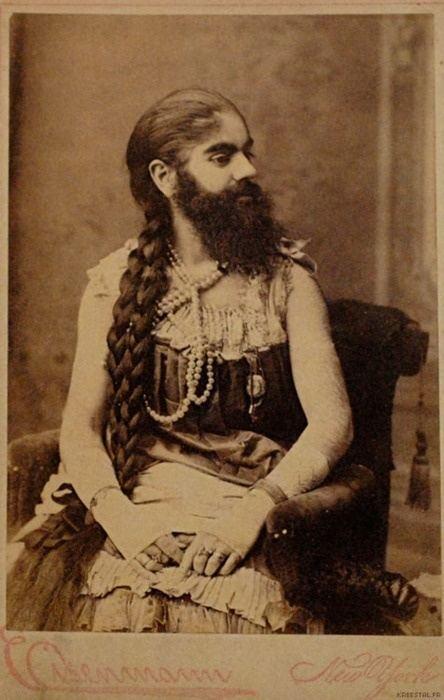 Annie Jones (bearded woman) Bearded Lady Annie Jones 189039s different ways of life