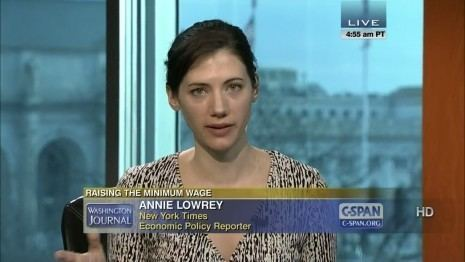 Annie Lowrey Lowrey NYTimes economics reporter leaving for New York