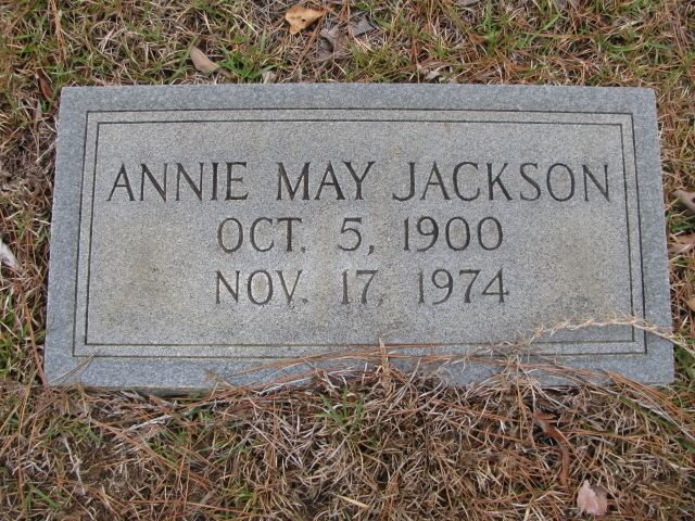 Annie May Jackson Annie May Jackson 1900 1974 Find A Grave Memorial