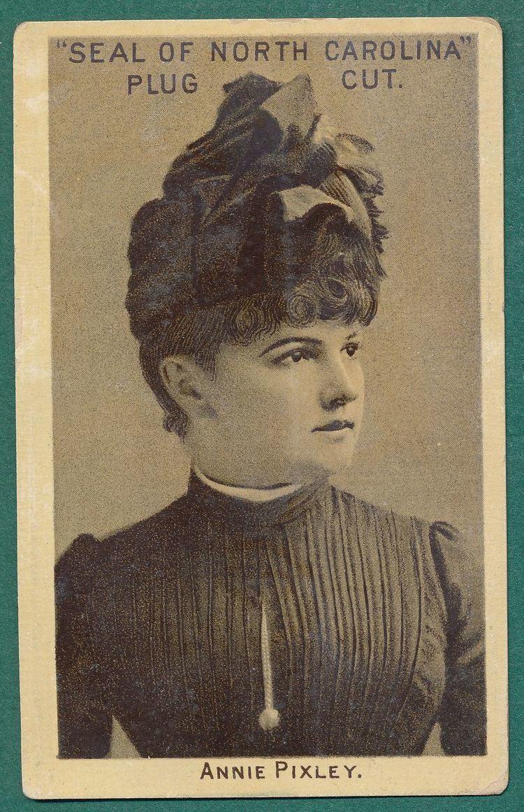 Annie Pixley Lot Detail 1880s N412 Seal of North Carolina Annie Pixley