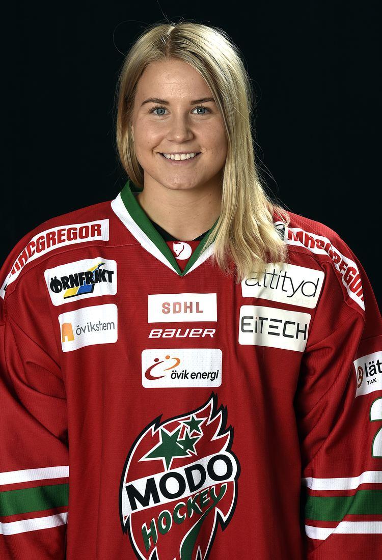 Annie Svedin Annie Svedin en speciell match MODO Hockey