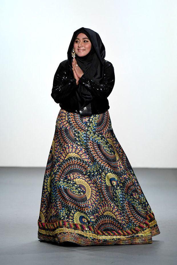 Anniesa Hasibuan New York Fashion Week Anniesa Hasibuan designer showcases all