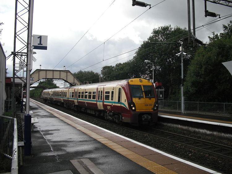 Anniesland railway station