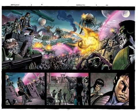 Annihilation (comics) Comics ASSEMBLE Annihilation book 3 MiB Reviews Now Closed for