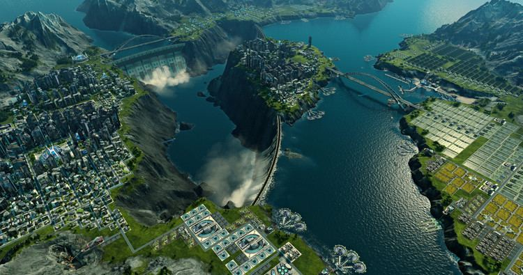 Anno 2205 Anno 2205 handson This city builder shoots for the moon PCWorld