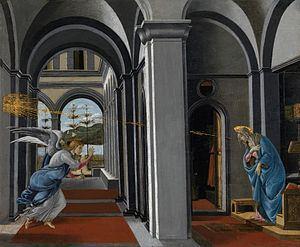 Annunciation (Botticelli, Glasgow) httpsuploadwikimediaorgwikipediacommonsthu