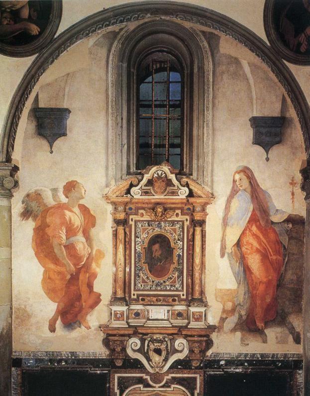 Annunciation (Pontormo) httpsuploads7wikiartorgimagesjacopopontorm