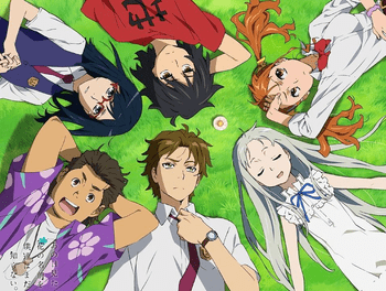Anohana: The Flower We Saw That Day anohana The Flower We Saw That Day Anime TV Tropes