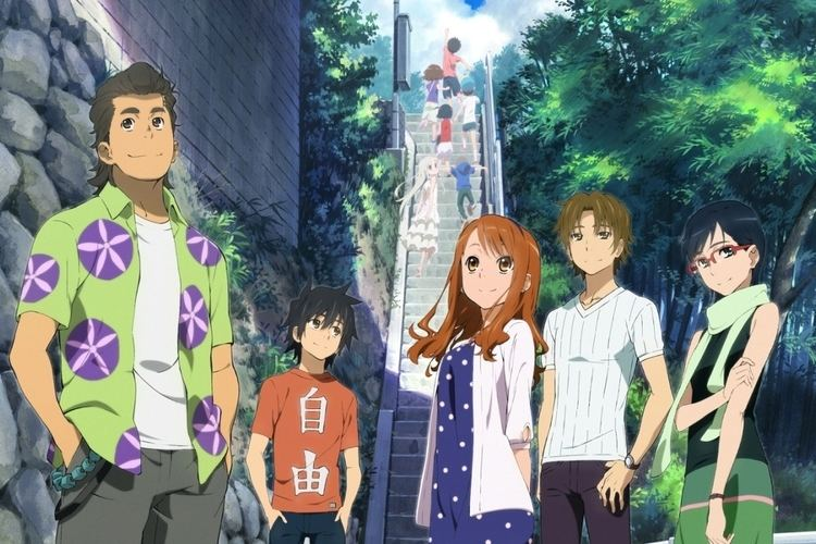 Anohana: The Flower We Saw That Day movie scenes