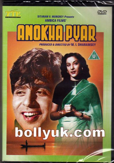 Anokha Pyar 1948 TTE DVD