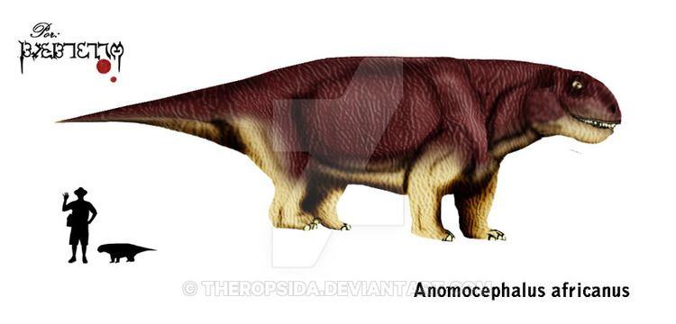 Anomocephalus Anomocephalus africanus by Theropsida on DeviantArt