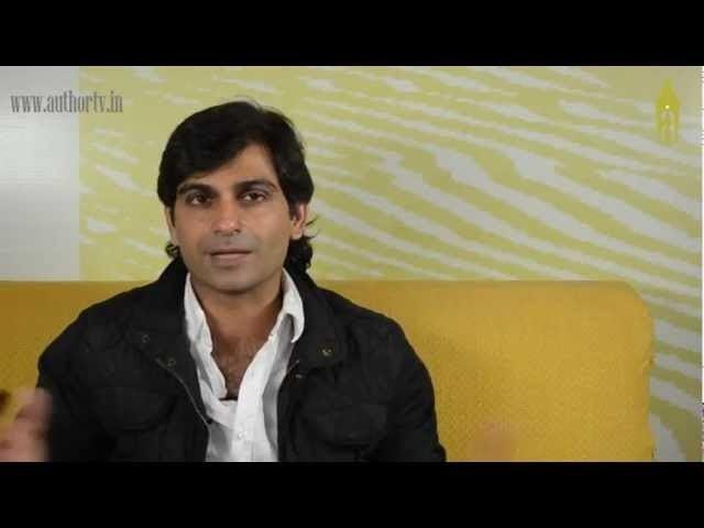 Anosh Irani AuthorTVin Author Anosh Irani