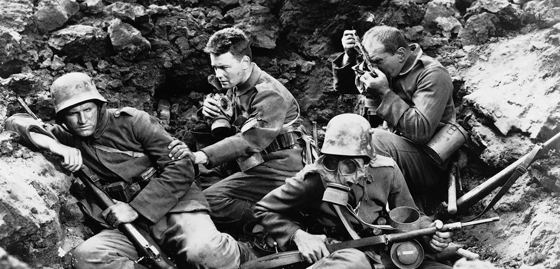 Another Country (film) movie scenes Some scenes in ALL QUIET ON THE WESTERN FRONT are some of the most famous in movie history a machine gun s view of the carnage indiscriminately mowing